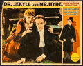 "Movie Posters:Horror, Dr. Jekyll and Mr. Hyde (Paramount, 1931). Lobby Card (11"" X 14"").Horror.. ..."