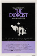 """Movie Posters:Horror, The Exorcist (Warner Brothers, 1974). One Sheet (27"""" X 41""""). Horror.. ..."""