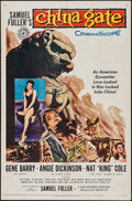 """Movie Posters:War, China Gate & Other Lot (20th Century Fox, 1957). One Sheets (2)(27"""" X 41""""). War.. ... (Total: 2 Items)"""