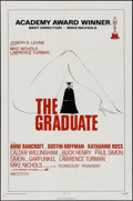 "Movie Posters:Comedy, The Graduate (Embassy, R-1972). One Sheet (27"" X 41""). Comedy.. ..."