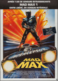 "Movie Posters:Science Fiction, Mad Max (Warner-Columbia, 1980). French Grande (45"" X 62.25"").Science Fiction.. ..."