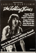 "Movie Posters:Rock and Roll, Ladies and Gentlemen: The Rolling Stones (Dragon Aire, 1973).Window Card (14"" X 20.5""). Surround Sound Style. Rock and Roll..."