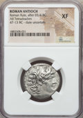 Ancients:Roman Provincial , Ancients: SYRIA. Antioch. Roman Rule. Ca. 47-13 BC. AR tetradrachm.NGC XF....