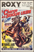 """Movie Posters:Action, The Charge of the Light Brigade (Warner Brothers, R-1950s). Belgian(14"""" X 22""""). Action.. ..."""
