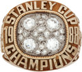 Hockey Collectibles:Others, 1988 Wayne Gretzky Edmonton Oilers Stanley Cup Championship Salesman's Sample Ring....