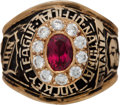 Hockey Collectibles:Others, 1970's NHL Official's Ring....