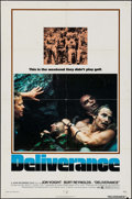 "Movie Posters:Action, Deliverance (Warner Brothers, 1972). One Sheet (27"" X 41""). Action.. ..."