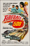 "Movie Posters:Action, Fireball 500 (American International, 1966). One Sheet (27"" X 41""). Action.. ..."