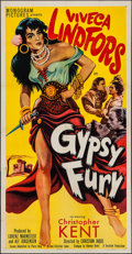 "Movie Posters:Foreign, The Wind is My Lover (Monogram, 1951). Three Sheet (41"" X 79.75"") AKA Gypsy Fury. Foreign.. ..."