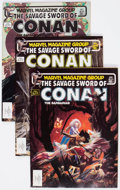 Magazines:Adventure, Savage Sword of Conan Box Lot (Marvel, 1983-94) Condition: Average VG/FN....