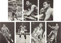 Basketball Collectibles:Photos, 1960's Basketball Greats Signed Photographs Lot of 6 with VintageBill Russell & Chamberlain. ... (Total: 3 item)