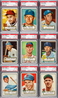 Baseball Cards:Sets, 1952 Topps Baseball Partial Set (135). ...