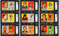 Football Cards:Sets, 1957 Topps Football Near Set (122/154). ...
