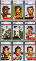 Baseball Cards:Sets, 1953 Topps Baseball Partial Set (125) With High Numbers. ...