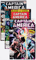 Modern Age (1980-Present):Superhero, Captain America Box Lot (Marvel, 1984-2004) Condition: AverageVF/NM....