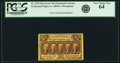 Fractional Currency:First Issue, Fr. 1279 25¢ First Issue PCGS Very Choice New 64.. ...