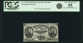 Fractional Currency:Third Issue, Fr. 1274SP 15¢ Third Issue Narrow Margin Face PCGS Very Choice New 64 Apparent.. ...