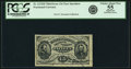 Fractional Currency:Third Issue, Fr. 1272SP 15¢ Third Issue Narrow Margin Face PCGS Choice About New 55 Apparent.. ...