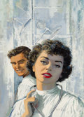 Mainstream Illustration, Victor Kalin (American, 1919-1991). Kay Mansion M.D., paperbackcover, 1959. Gouache on board. 20 x 13 in.. Signed lower...(Total: 2 Items)