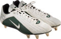 Football Collectibles:Others, Circa 2001 Donald Driver Game Worn Green Bay Packers Cleats....