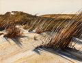 Works on Paper, Woody Gwyn (American, b. 1944). Sand Cane. Watercolor on paper. 10-1/4 x 13-1/4 inches (26.0 x 33.7 cm) (sight). Signed ...