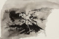Works on Paper, Gibbs Milliken (American, b. 1935). Study of a Caracara, 1962. Ink wash on paper. 13 x 19-1/4 inches (33.0 x 48.9 cm) (s...