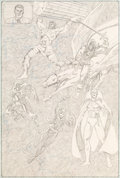 Original Comic Art:Splash Pages, George Perez Avengers #151 Splash Page 9 Original Art (Marvel, 1976)....