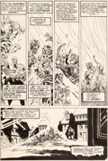 Original Comic Art:Panel Pages, Bernie Wrightson Swamp Thing #6 Story Page 19 Original Art(DC, 1973)....