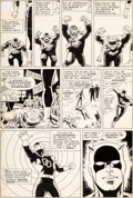 Original Comic Art:Panel Pages, Bob Powell and Wally Wood Daredevil #11 Story Page 17 Original Art (Marvel, 1965)....