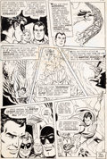 "Original Comic Art:Panel Pages, Ross Andru and Mike Esposito Action Comics #366 ""SubstituteSuperman"" Story Page 13 Original Art (DC, 1968)...."
