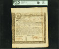 Colonial Notes:Massachusetts, State of the Massachusetts Bay - (Act of May 2, 1777) 6% TreasuryLoan Certificate due June 1, 1780 35 Pounds March 20, 1778 A...