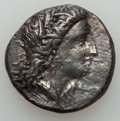 Ancients:Greek, Ancients: LUCANIA. Metapontum. Ca. 330-290 BC. AR stater (7.52 gm).Nearly VF....