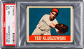 Baseball Cards:Singles (1940-1949), 1948 Leaf Ted Kluszewski #38 PSA NM-MT 8....