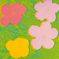 Andy Warhol (1928-1987) Flowers, 1970 Screenprint in colors 36 x 36 inches (91.4 x 91.4 cm) (shee