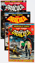 Bronze Age (1970-1979):Horror, Tomb of Dracula Group of 59 (Marvel, 1972-79) Condition: AverageVG/FN.... (Total: 59 Box Lots)