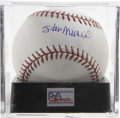 Autographs:Baseballs, Stan Musial Single Signed Baseball, PSA Mint+ 9.5. Stan the Manpresents a near flawless single for this visually impressive...