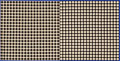 Post-War & Contemporary:Contemporary, Victor Vasarely (1906-1997). TRAMES NB-1, 1964. Collage onpanel with gouache frame. 24 x 48 inches (61.0 x 121.9 cm). S...