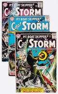 Silver Age (1956-1969):War, Captain Storm Group of 16 (DC, 1964-67) Condition: Average VG+.... (Total: 16 Comic Books)
