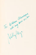 Autographs:Celebrities, Willy Ley Signed Book: Rockets, Missiles, and Space Travel....