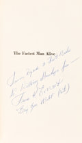 Autographs:Celebrities, Frank Everest Signed Book: The Fastest Man Alive....