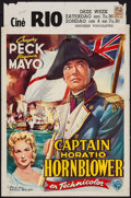 "Movie Posters:Adventure, Captain Horatio Hornblower (Warner Brothers, 1951). Belgian (14.5""X 22""). Adventure.. ..."