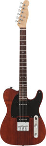 Musical Instruments:Electric Guitars, Telecaster Style Burgundy Solid Body Electric Guitar....