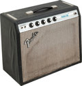 Musical Instruments:Amplifiers, PA, & Effects, 1975 Fender Princeton Black Guitar Amplifier, Serial #A18593....