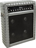 Musical Instruments:Amplifiers, PA, & Effects, Circa 1970 Kustom 150 Silver Sparkle Guitar Amplifier....