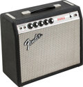 Musical Instruments:Amplifiers, PA, & Effects, 1974 Fender Bronco Black Guitar Amplifier, Serial #A 41026....
