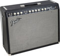 Musical Instruments:Amplifiers, PA, & Effects, Circa 2007 Fender Vibrolux Reverb Black Guitar Amplifier, Serial#AB027466....