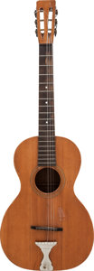 Musical Instruments:Acoustic Guitars, Circa 1920s American-Made Acoustic Parlor Guitar....