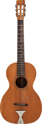 Circa 1920s American-Made Acoustic Parlor Guitar