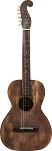 "Musical Instruments:Acoustic Guitars, Circa 1920-30s ""Stauffer"" Style Headstock Acoustic Guitar...."