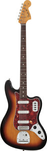 Musical Instruments:Bass Guitars, Circa 2000s Fender Bass VI Sunburst Electric Bass Guitar. Serial #U017618....